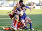 AFTER  80 minutes of roller-coaster football, Coffs Harbour Comets raised the Clem Rankin Memorial shield as  32-18 victors under lights at Frank McGuren Field.