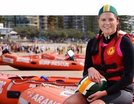 Lifesavers hit the beach for Rescue Boat Championships
