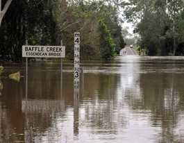 Flood-proof funding unlikely for bridge in state budget