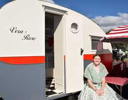 Home-made caravan's secret life comes out in letters