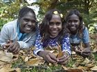 AUTUMN leaves are a new sight for the Wadeye Girls. As are trampolines, helicopters, porta loos and tennis.