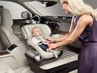 MAKE IT HAPPEN: Volvo's child seat concept could revolutionise and simplify kiddie travel