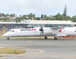 Gladstone Airport flight numbers and profit dive