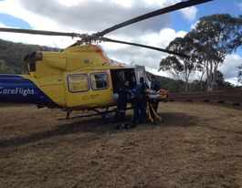 Mundubbera boy, 13, airlifted to hospital