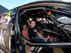 Supercars make pit stop in Mackay before race weekend