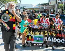 Ballina march makes statement on importance of NAIDOC week