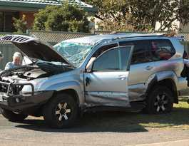 Five crashes in 30 minutes test emergency crews