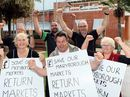 THE Maryborough Heritage Markets will move back to the CBD in December, after months of speculation about their future – but for some businesses it's too late.