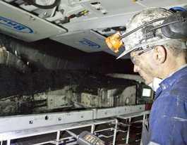 Blackwater's Cook Colliery sailing into modern mine era
