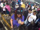 DIEGO Mino, an Ecuadorian drummer in a local band, inadvertently captured the moment he was pickpocketed during a visit from the Pope to the country's capital.