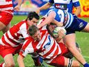 IT was safety first football when Byron Bay beat the Grafton Redmen 22-12 in Far North Coast rugby union at Grafton Rugby Park at the weekend.