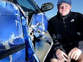 CRAIG ROSE has launched a one-man crusade to find the culprit who slammed their car into his girlfriend's vehicle and wrote it off last Friday night.