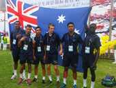IGS's spirited competitors handled the challenging conditions well to finish seventh at the recent International School Sport World Championship in China.