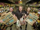 CUSTOMER'S welcomed SPAR Express Yamba's decision not to give out plastic bags on Wednesday.