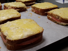 We love a gorgeous Croque Monsieur, or as we're more likely to say here, a ham and cheese toastie.