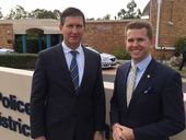 THE State Opposition has thrown its support behind the Ipswich police communications centre and its 27 staff.