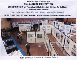 Art club's 55th exhibition opens tomorrow at Lismore