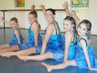 DANCE students in Millmerran have found a way to keep warm this winter.