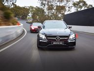 Latest twin-turbo 4.0-litre V8 AMG bruiser comes alive at Mt Panorama