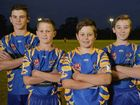 THIS year's round of the Ipswich Junior Rugby League President's Cup has a distinctly blue and gold feel to it.