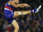 Jack Redpath is certainly feeling more at home in the Bulldogs senior line-up than he has previously.