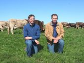 AUSTRALIA Day 2011 was the nail in the coffin for many dairy producers, but luckily not for Aaron and Michael Clews.
