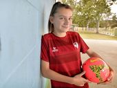MULTI-talented Ipswich teenager Natasha Ridley is used to scoring plenty of goals for her representative teams in football and futsal.