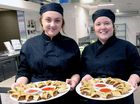 IT HASN'T taken long for the students of Trinity Catholic College in Lismore to get to grips with their new $1.3 million hospitality training centre.