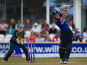 ENGLAND have beat Australia by four wickets in the first one day international (ODI) of the Women's Ashes 2015.
