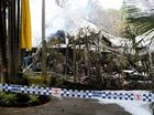 "THE owner of a Byron Bay guesthouse, which burnt to the ground on Tuesday afternoon, was ""held back"" as she tried to run into the home, screaming and crying."