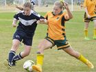MET West teams displayed plenty of promise at Tivoli on the first day of the Queensland School Sport 13-15 years football state championships.