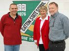 SCHOOL'S OUT: Retired Gatton State School teachers Steve Warren and Nola and Michael Vaughan.