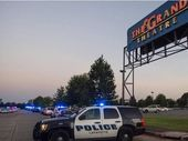 TWO people, including a gunman have been killed at a shooting at a movie threatre in Louisiana.