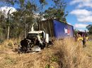 A man in his 40s has been killed in a crash on the Bruce Hwy. The crash happened at 8.15pm on Thursday, just north of Calliope, near Gladstone.