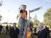 ROGER Guard lived to run, so it was with a great sense of nostalgia and love that the Toowoomba Road Runners gathered to re-name a laneway in his honour.