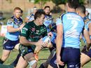 Action from the Queensland Cup match between the Ipswich Jets and Norths at North Ipswich Reserve on Saturday. The Jets won 36-22.