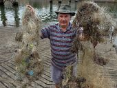 BURNETT River activist Daryl Hampson is concerned wildlife are being hooked, caught and killed by careless fishermen.
