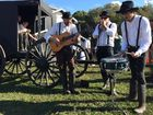 FAST paced festival goers were offered a taste of the simple life at this year's Splendour in the Grass as the Amish community returned for its third year.