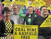 SOUTHERN Downs residents met at the Goomburra Hall on Saturday to declare their wish for the region to remain free of coal mines and gas fields.