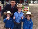 Lawrence Springborg tours the Texas Show