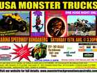 Bundaberg's Monster Trucks ARE BACK! Come on down to Carina Speedway to have a great night full of excitement! PLUS Bundaberg's biggest firework display!