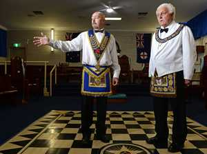 At the Tweed Masonic lodge.