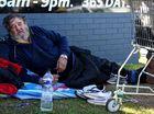 DAN Kwasn hasn't been homeless for long.