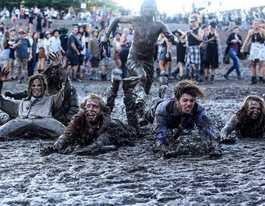 Splendid time despite the mud