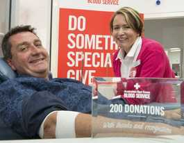 Toowoomba man rolls up his sleeves to save lives