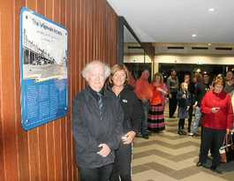 Donor of land for Wigmore Arcade honoured in renovation