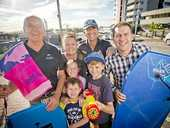 A PCYC fundraising event that will feature a giant slide down Gladstone's main street is expected to bring visitors from Mackay, Bundaberg and Emerald.