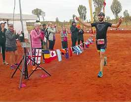 Gladstone man the fastest runner on red dirt