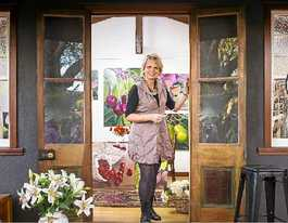 Switch to art pays off for Sabine with Little Big Exhibition