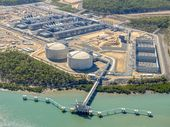 AUSTRALIA Pacific LNG has started loading refrigerants to its Curtis Island facility, marking a significant achievement in the project's commissioning phase.